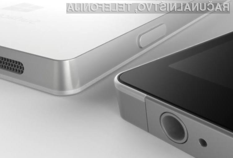 Prvi telefoni Microsoft Surface Phone naj bi na prodajne police prispel v prvi polovici 2017.