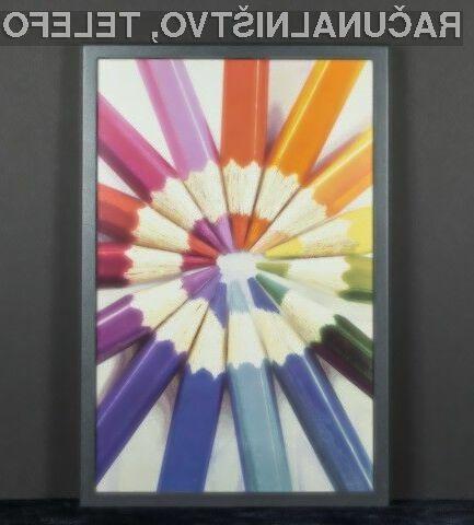 Inovativni barvni elektronski zaslon podjetja E-Ink obeta veliko.