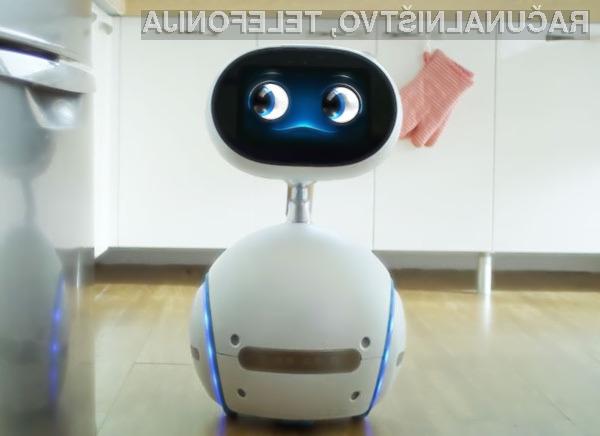 Družinski robot Asus Zenbo je vsestransko uporaben in relativno poceni.