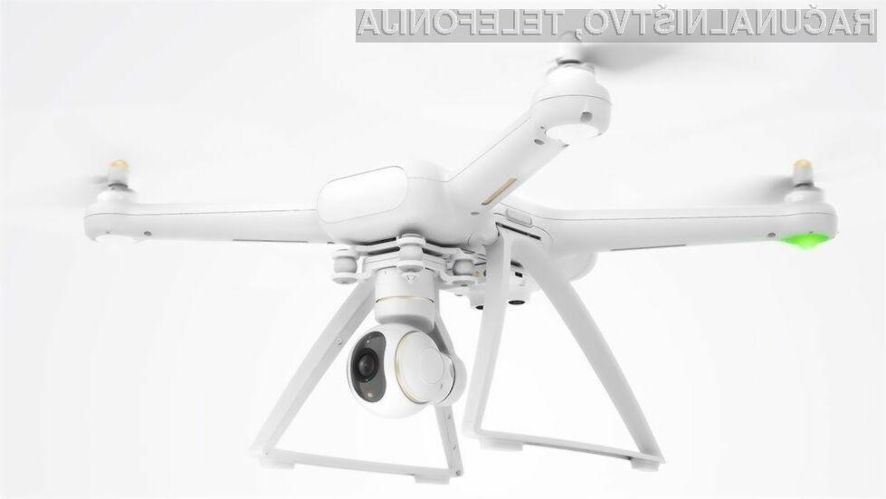 Dron podjetja Xiaomi bo imel kar 27 minutno avtonomijo.