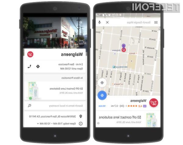 Uporabniki mobilne navigacije Google Maps bodo dobesedno preplavljeni z reklamnimi oglasi.