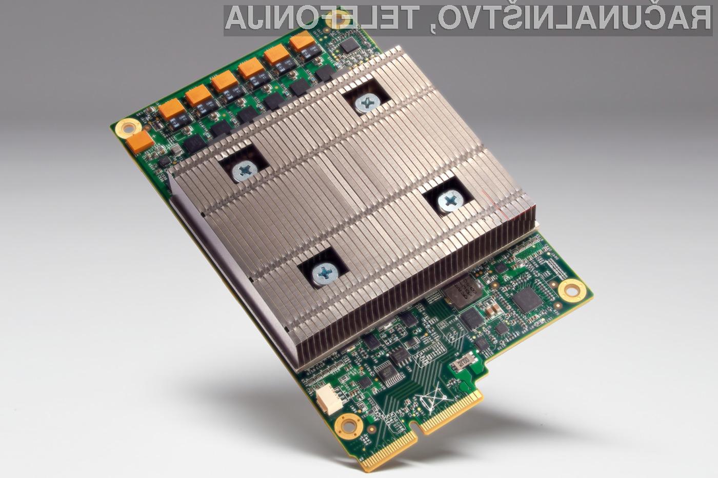 Google je namenski procesor pripravil izključno za namene pohitritve delovanja umetne inteligence.