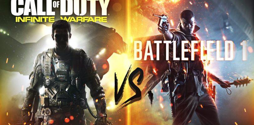 Tudi v letošnjem letu bomo dobili novi igri serij Call of Duty in Battlefield.