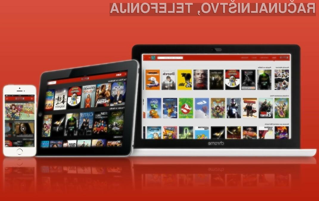 Spletno orodje Netflix vam bo prikazalo dejansko hitrost prenosa interneta.