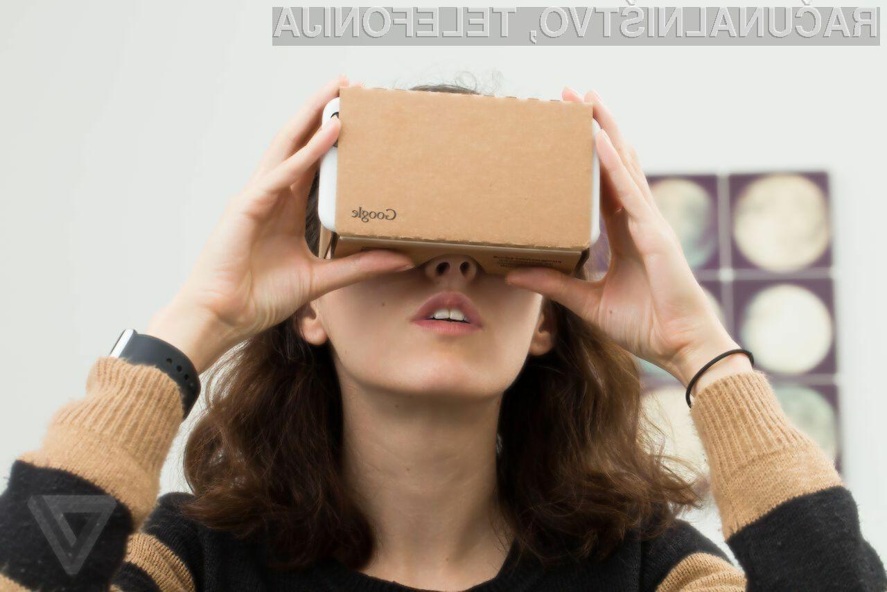 Očala za navidezno resničnost Google Android VR bodo nadomestila priljubljeno ohišje Cardboard.