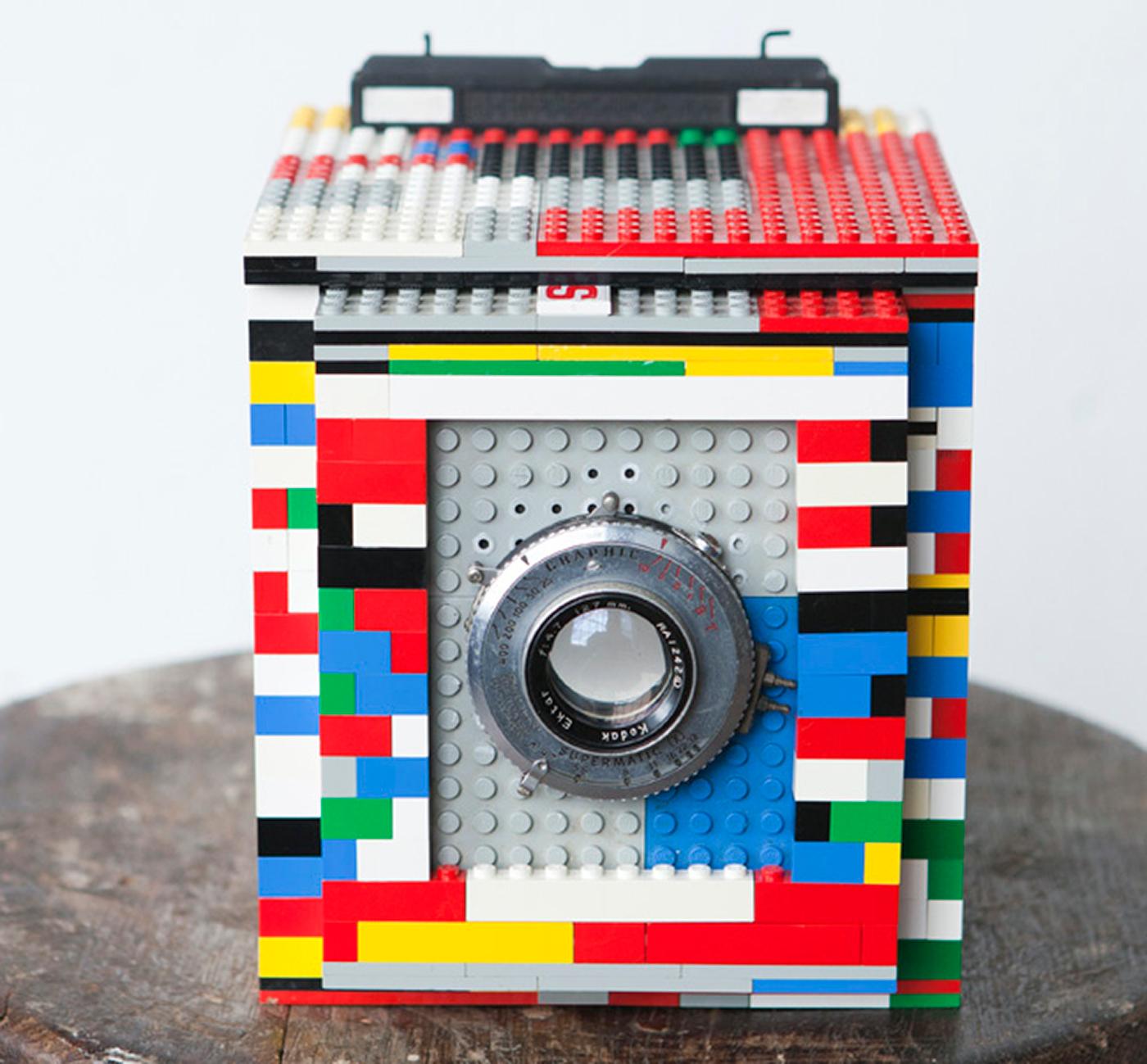 1. Delujoča lego kamera