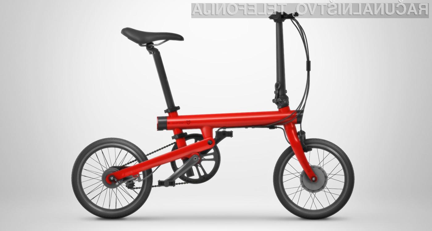Pametno električno kolo Xiaomi Mi Qicycle za malo denarja ponuja veliko.