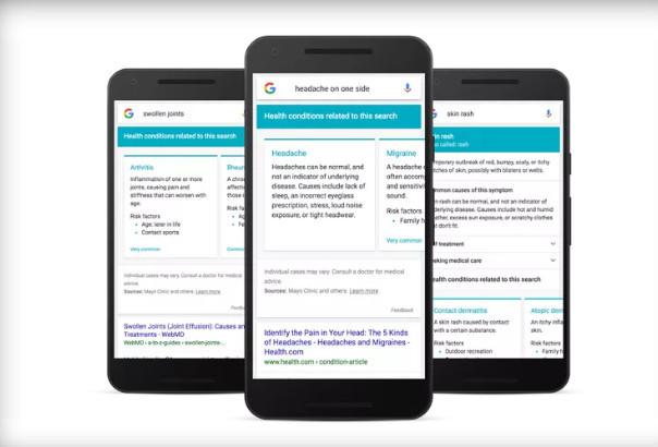 Storitev Dr. Google bo skrbela za boljše informiranje uporabnikov o boleznih.