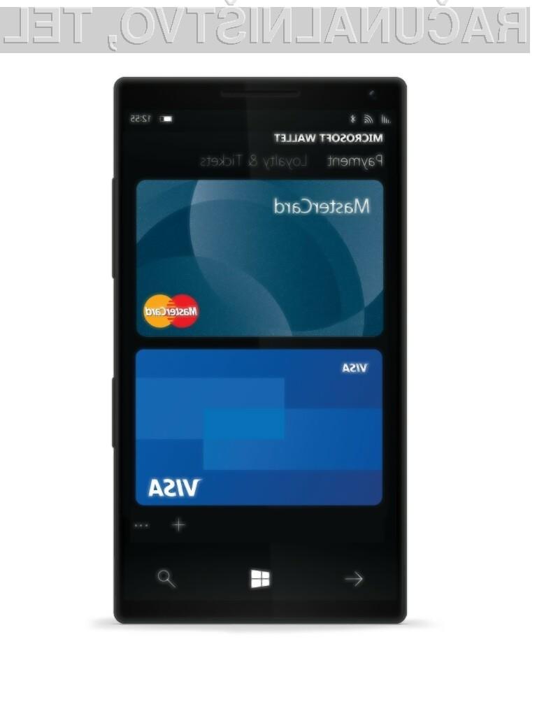 Digitalna denarnica Microsoft Wallet je trenutno omejena le na ZDA.