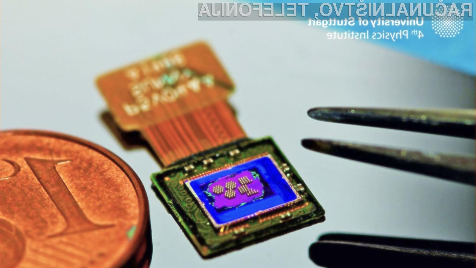 Miniaturna kamera v dolžino meri zgolj 100 mikrometrov.