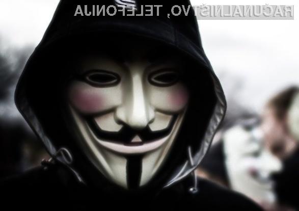 Člani hekerske skupine Anonymous teroriste »strašijo« s pornografsko vsebino.