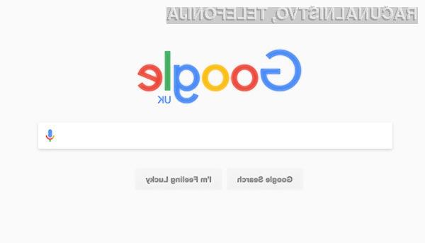 Prenovljeni spletni iskalnik Google bo poenostavil spletno iskalnike.