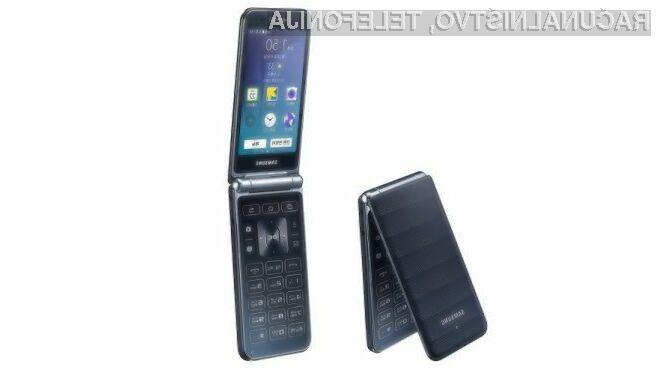 Preklopni Samsung Galaxy Folder 2 bo razveselil marsikaterega uporabnika storitev mobilne telefonije!