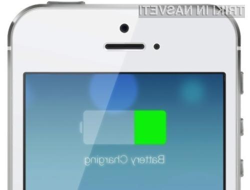 Z nekaj nastavitvamo lahko opazno povečamo avtonomijo delovanja pametnega mobilnega teflona iPhone.