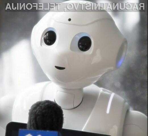 Robot Pepper je dal jasno vedeti, da je njegovo poslanstvo v tem, da naredi življenje ljudi boljše.