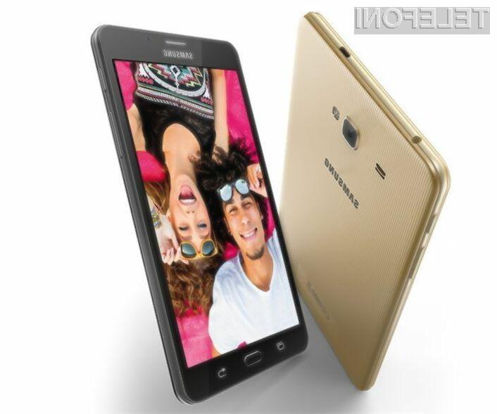 Pametni mobilni telefon Samsung Galaxy J Max v marsičem spominja na Xiaomijev Mi Max.