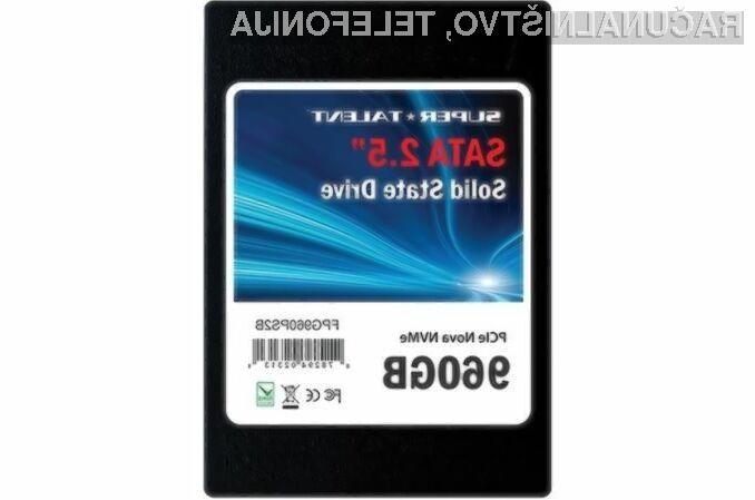 Pogon Solid State kapacitete 1.920 gigabajtov bo na voljo za nakup tudi povsem običajnim uporabnikom.
