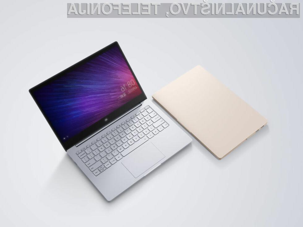 Kompaktni prenosni računalnik Xiaomi Mi Notebook Air je upravičil vsa pričakovanja.