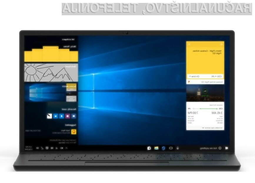 Nadgradnja Anniversary Update bo uporabnikom operacijskega sistema Windows 10 prinesla zvrhan koš uporabnih novosti.