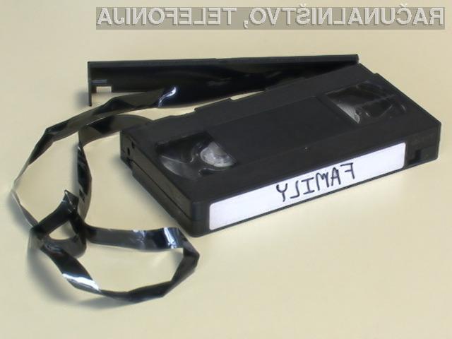 Kasete VHS so zdržale kar zavidljivih 40 let!