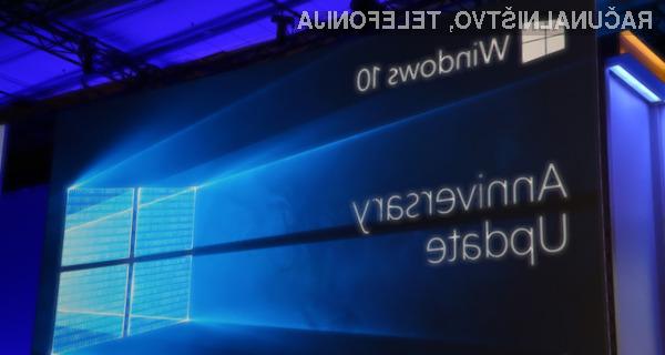 Novi Microsoft Windows 10 Anniversary Update bo najprej na voljo za proizvajalce že sestavljenih računalnikov.