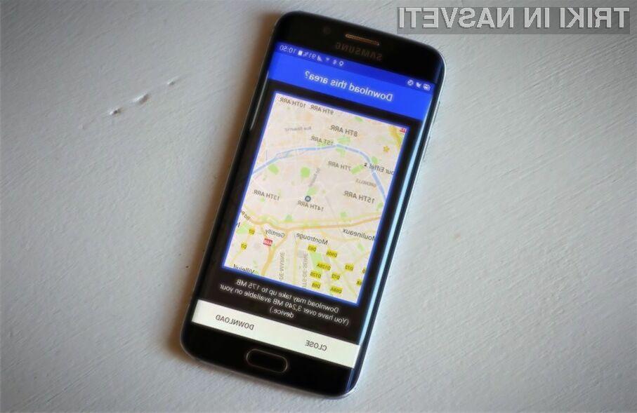 Nova različica kartografskega sistema Google Maps za Android prinaša uporabne možnosti, ki se jim enostavno ni moč upreti!