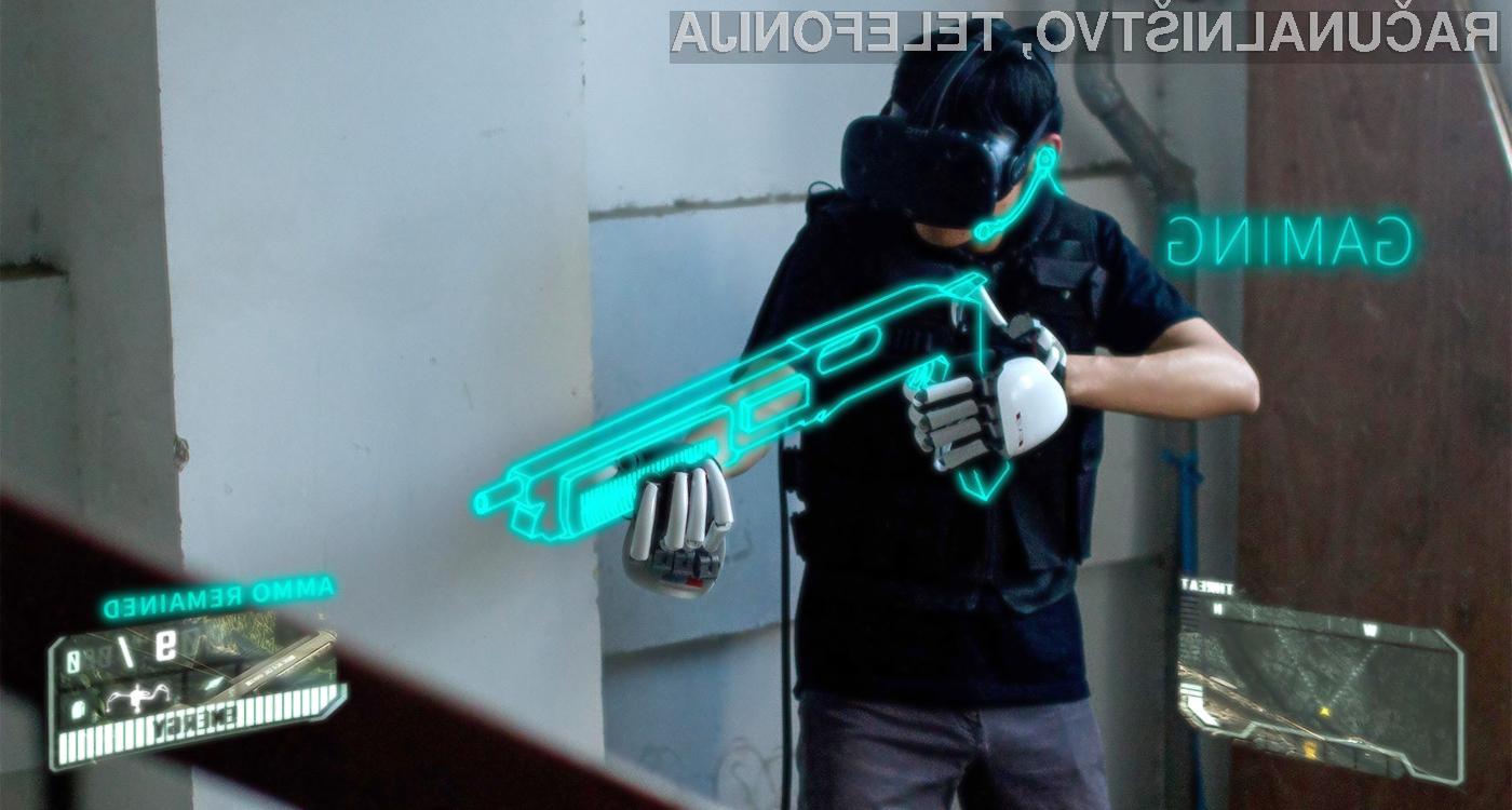 Pametna rokavica Dexmo podjetja Dexta Robotics bo navidezno resničnost povsem približala dejanski.