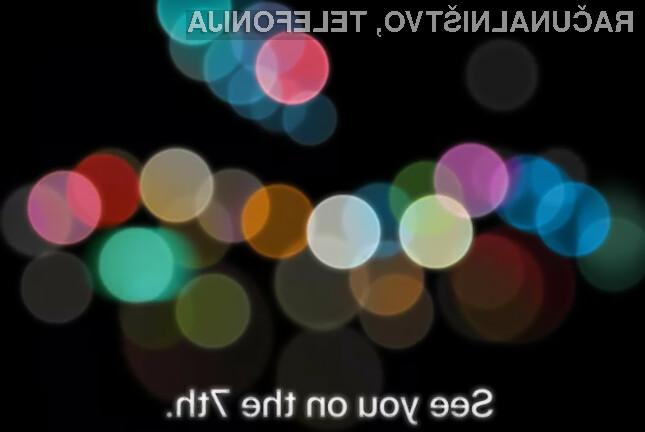 Apple bo vse novosti javnosti razkril že 7. septembra, glavna zvezda pa naj bi bil novi iPhone 7.