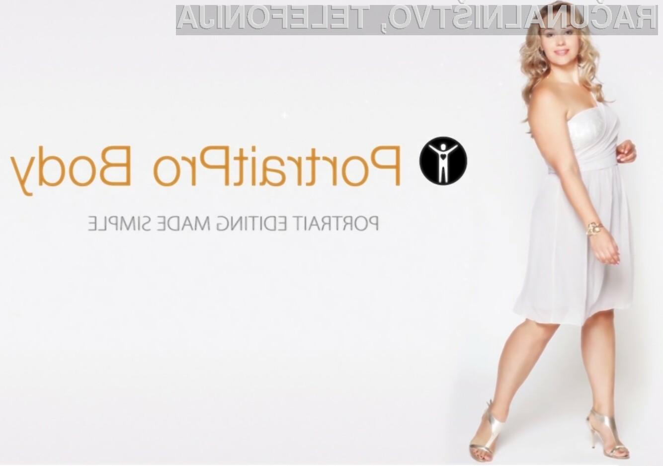 Vrhunska programska oprema PortraitPro Body nam bo na fotografiji pomagala pri oblikovanju celotnega telesa.
