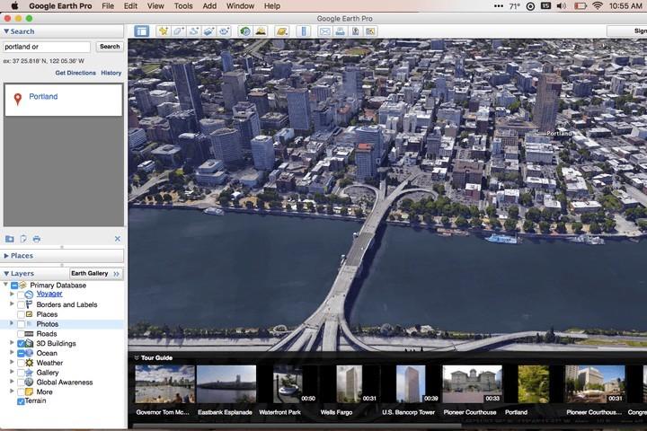 Google Earth Pro vas bo na račun naprednih možnosti zagotovo takoj prevzel!