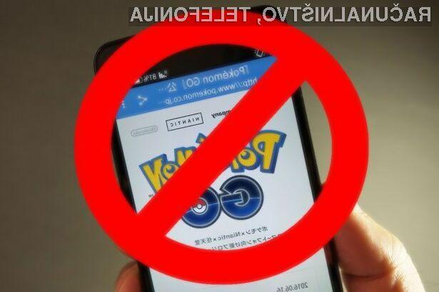 Pokemon Go je v Iranu do nadaljnjega prepovedan!