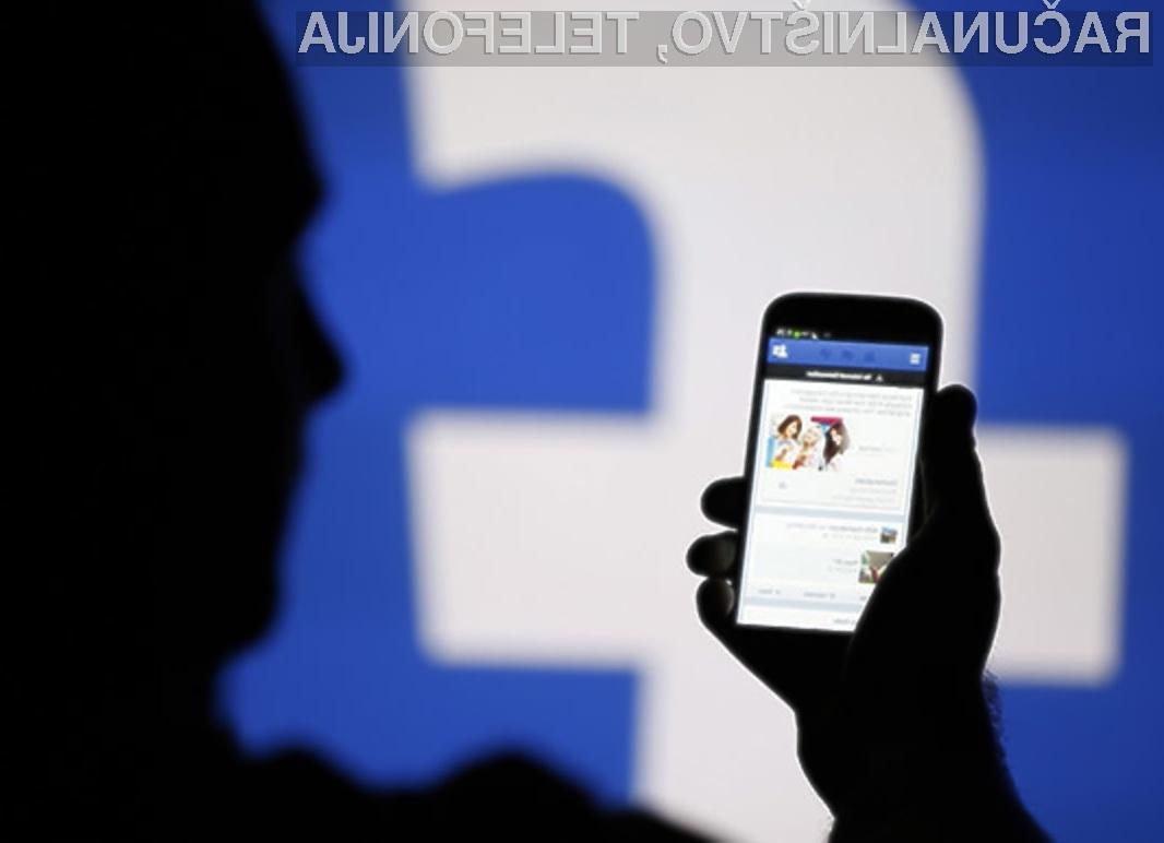 Facebookov računalniški algoritem za urejanje vsebin je pogorel na celi črti.
