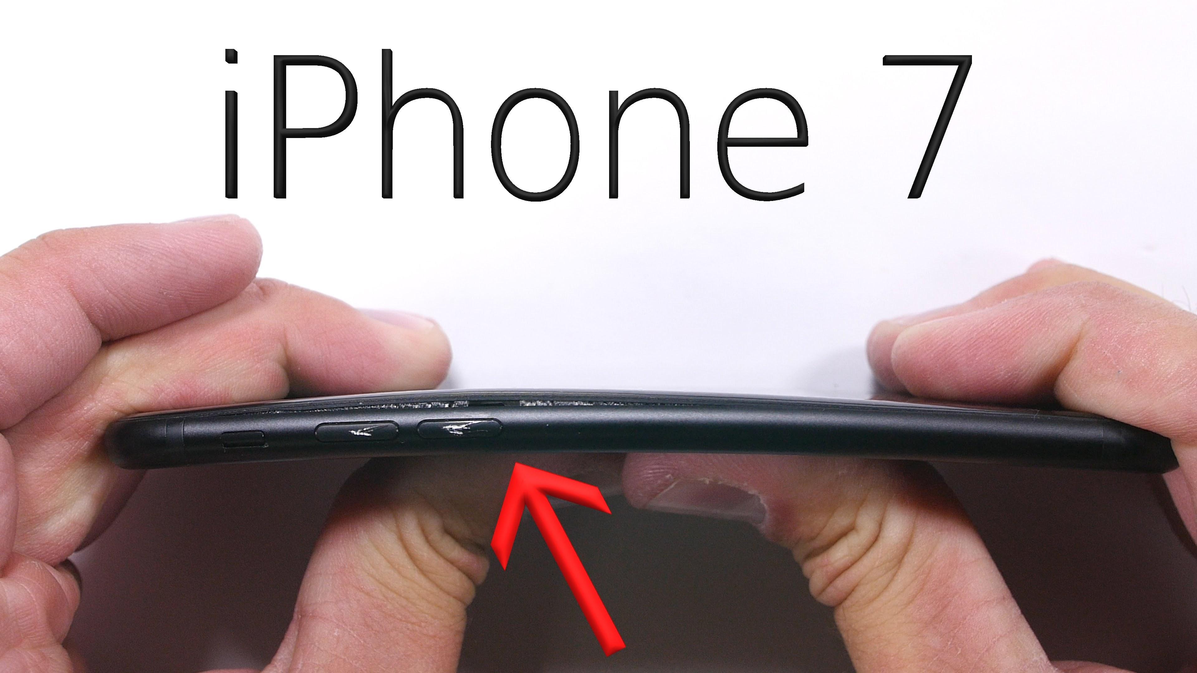 Pametni mobilni telefon Apple iPhone 7 vsaj zlahka ne bomo uničili!