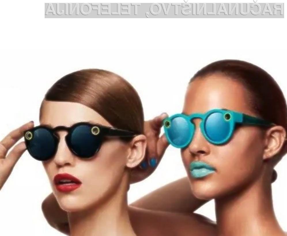Preverite, kaj vsega zmorejo pametna očala Snapchat!