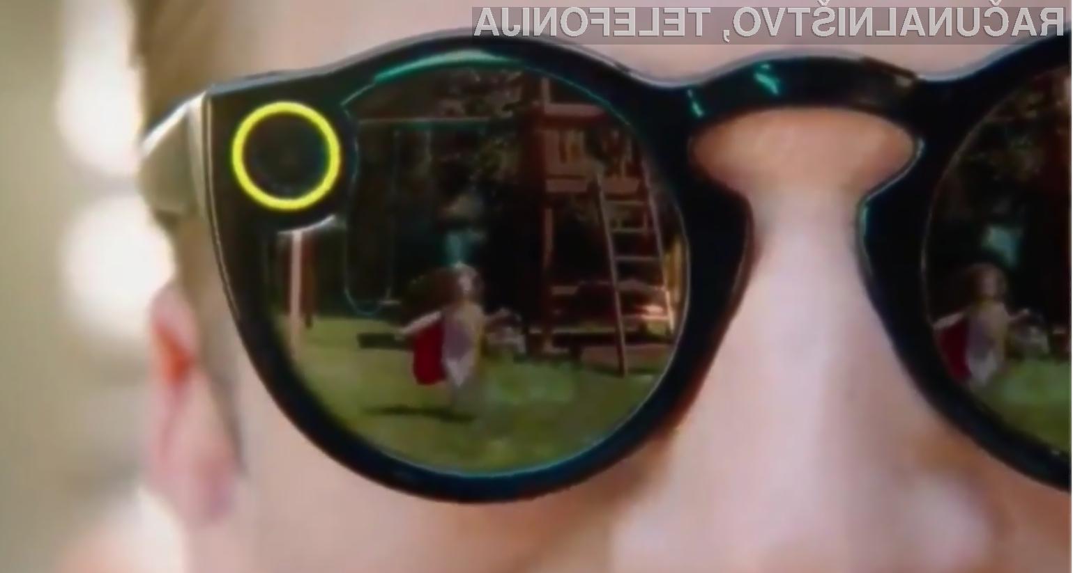 Očala Snapchat Spectacles bodo poenostavila objavo večpredstavnostnih vsebin na spletno storitev Snapchat.
