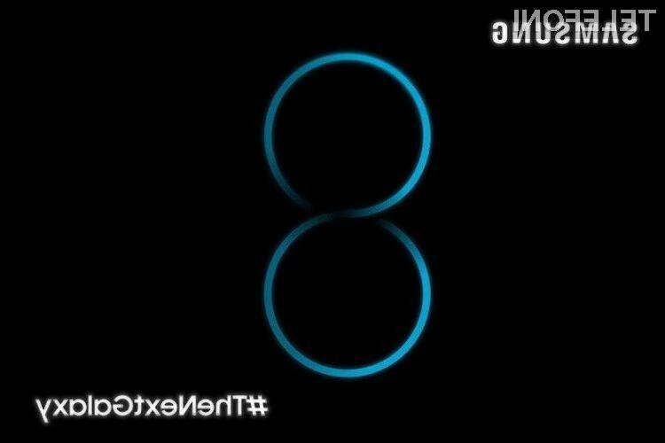 Telefon Galaxy S8 naj bi vsaj po zmogljivosti zlahka opravil s prehodnikom!
