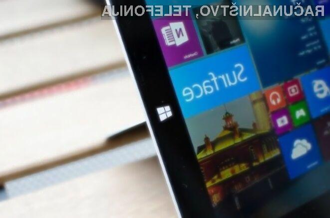 Namizni računalniki Microsoft Surface AiO bodo nared letos oktobra.