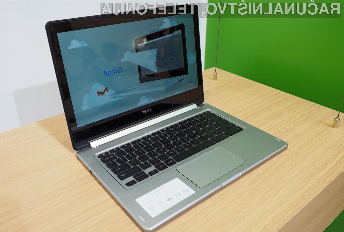 Prenosniku Acer Chromebook R13 se bomo le stežka uprli!