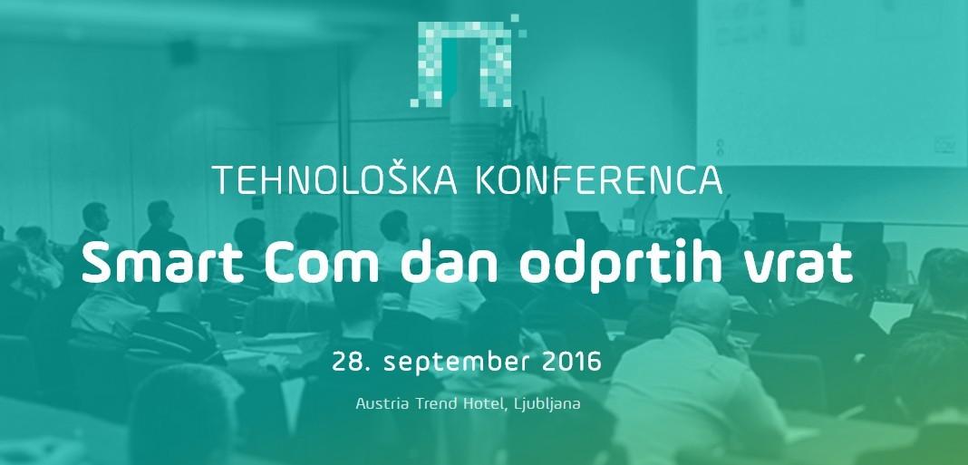 18. Tehnološka konferenca Smart Com Dan odprtih vrat