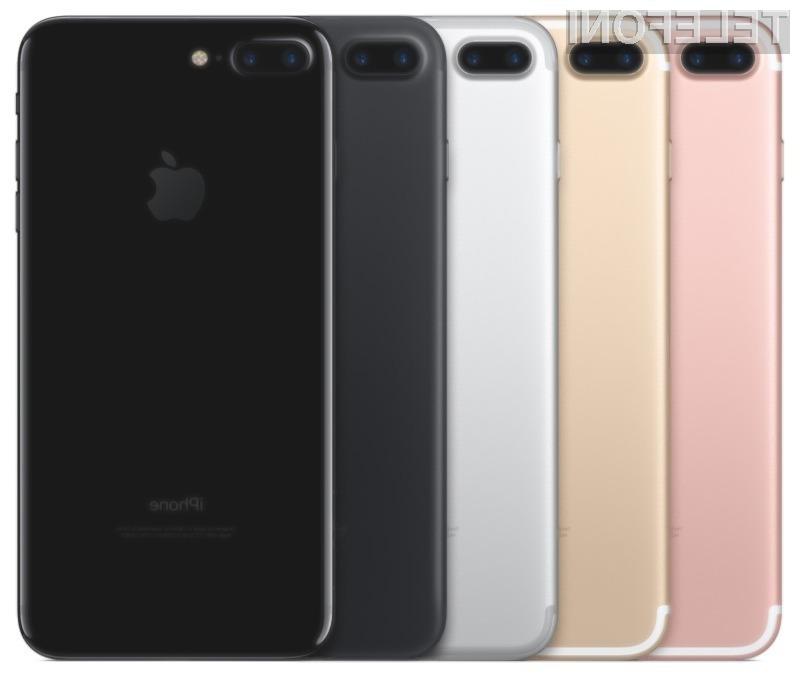 Novi iPhone 7 je za slovenske razmere precej draga naprava!