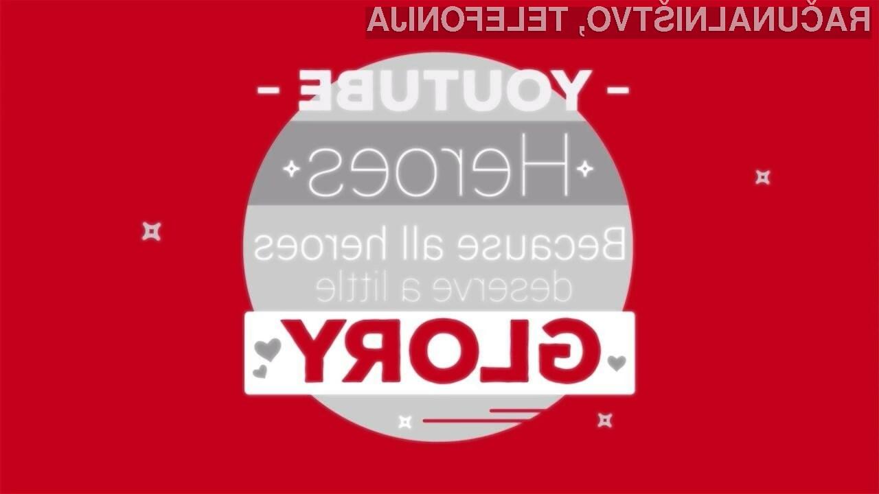 Program YouTube Heroes bo nagradil marljive prostovoljce!