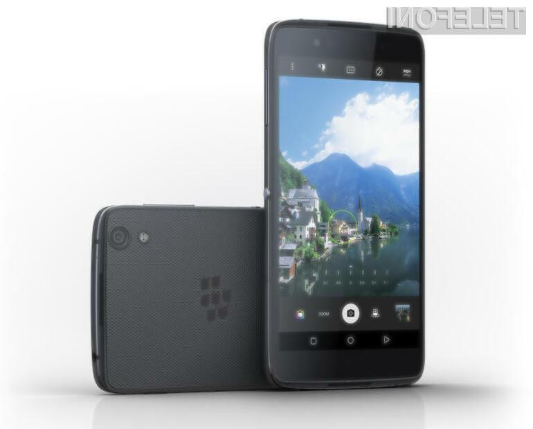 Telefon BlackBerry DTEK60 naj bi bil naprodaj še letos!