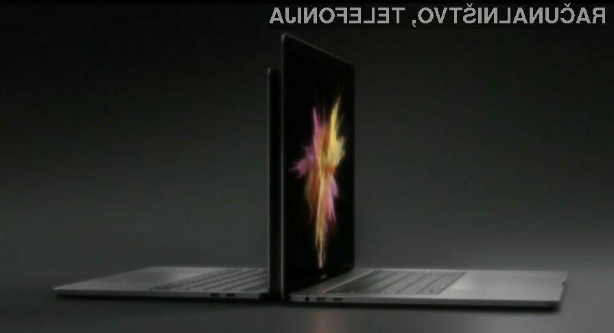 Spoznajte novi MacBook Pro z dodatnim zaslonom!