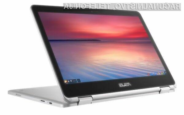 Novi prenosnik Asus Chromebook C302CA bo zlahka opravil tudi z najzahtevnejšimi nalogami!