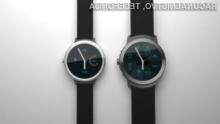 Pametne ročne ure Google Android Wear naj bi ponujale