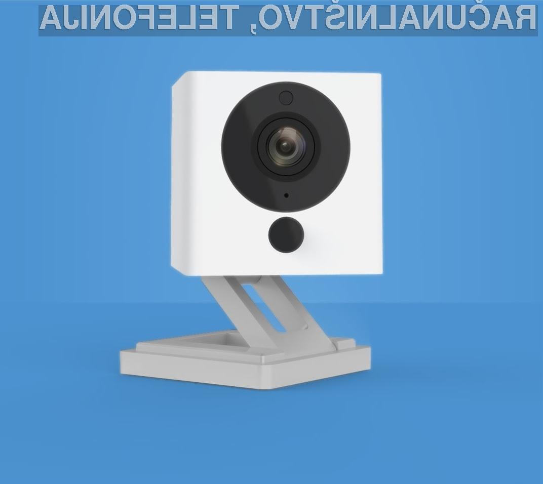 Kompaktna nadzorna kamera Xiaomi Little Square Camera bo zlahka našla prostor v stanovanju!