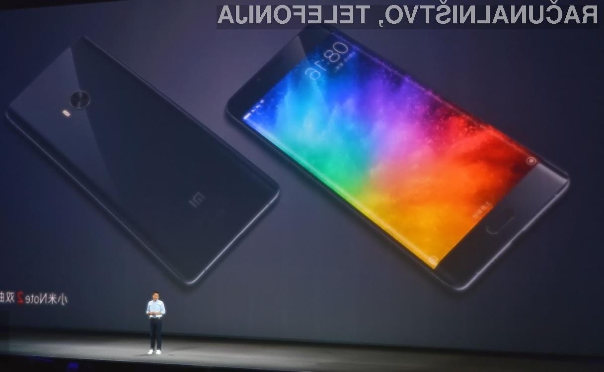 Telefon Xiaomi Mi Note 2 nas ne bo razočaral!