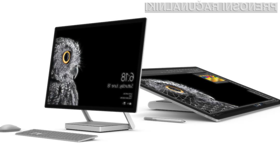 Microsoftov računalnik vse-v-enem Surface Studio je pozitivno presenetil tudi največje kritike!