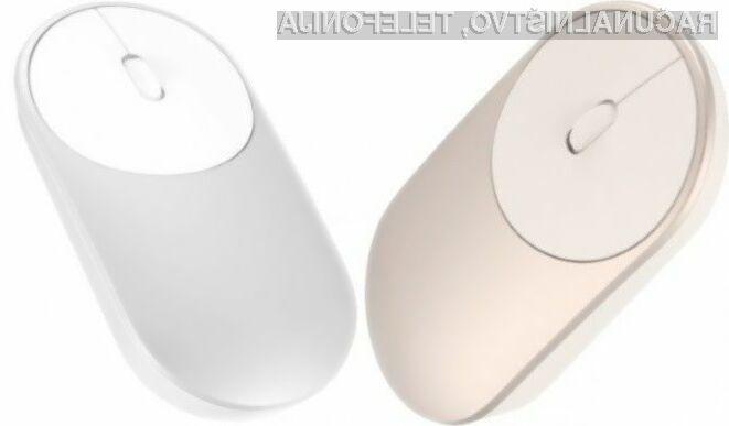 Računalniško miško Xiaomi Mi Mouse lahko uporabljamo na kar dveh računalnikih!