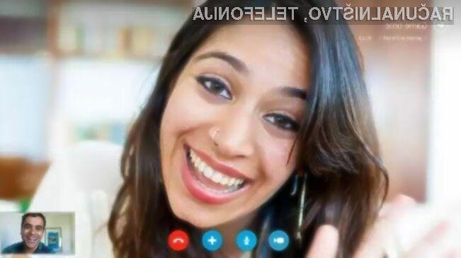 Za uporabo oblačnega Skypa uporabniški račun ni več obvezen!